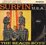 7inch Vinyl Single - The Beach Boys - Surfin' U.S.A. - Original UK