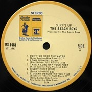 LP - The Beach Boys - Surf's Up - + Poster