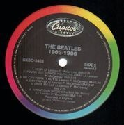 Double LP - The Beatles - 1962 - 1966, Red Album - Canada