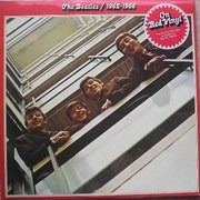 Double LP - The Beatles - 1962 - 1966, Red Album - RED VINYL