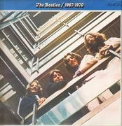 LP - The Beatles - 1967 - 1970, Blue Album - DARK CLARET LABELS
