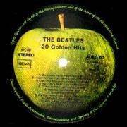 LP - The Beatles - 20 Golden Hits - Apple label