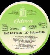 LP - The Beatles - 20 Golden Hits - ODEON LABELS