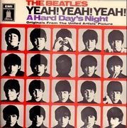 LP - The Beatles - A Hard Day's Night - CLUB EDITION Yeah! Yeah! Yeah!