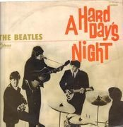 LP - The Beatles - A Hard Day's Night - Japanese Red Vinyl
