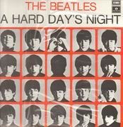LP - The Beatles - A Hard Day's Night - No Stereo No Cat. No. On Front