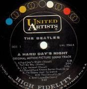 LP - The Beatles - A Hard Day's Night - ORIGINAL MONO USA