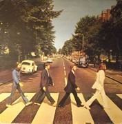 LP - The Beatles - Abbey Road - ITALIAN PRESS