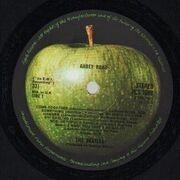 LP - The Beatles - Abbey Road - Original 1st UK. Sleeve Variant