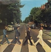 LP - The Beatles - Abbey Road - Original German