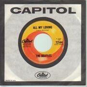 7'' - The Beatles - All My Loving - company sleeve