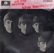 7inch Vinyl Single - The Beatles - All My Loving - Original UK EP