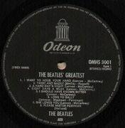 LP - The Beatles - Beatles' Greatest - BIEM
