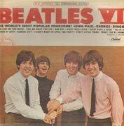 LP - The Beatles - Beatles VI - PURPLE CAPITOL LABELS