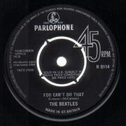 7'' - The Beatles - Can't Buy Me Love - original 1st uk, company sleeve