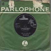 7inch Vinyl Single - The Beatles - Can't Buy Me Love / You Can't Do That - Company Sleeve, UK Original