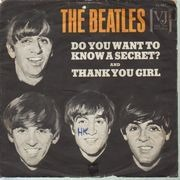 7inch Vinyl Single - The Beatles - Do You Want To Know A Secret - picture sleeve, us original