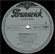 LP - The Beatles - Pop Giants Vol. 24 (Feat.Tony Sheridan)