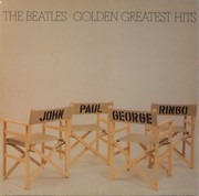LP - The Beatles - Golden Greatest Hits - German Club Edition