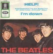 7'' - The Beatles - Help! - picture sleeve