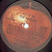 LP - The Beatles - Let It Be - US RARE LABEL