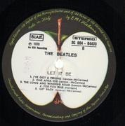 LP - The Beatles - Let It Be