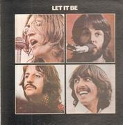 LP - The Beatles - Let It Be - Gatefold Red Apple 2U