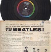 LP - The Beatles - Meet The Beatles! - 2nd Press