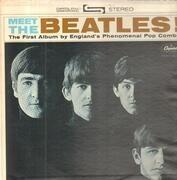 LP - The Beatles - Meet The Beatles! - US Original