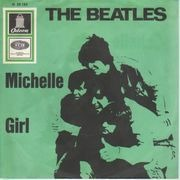 7'' - The Beatles - Michelle / Girl - picture sleeve