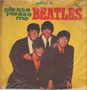 LP - The Beatles - Please Please Me - Original Taiwan. Orange Vinyl