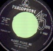 7inch Vinyl Single - The Beatles - Please Please Me - MISPRESS