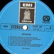 LP - The Beatles - Revolver - BLUE ODEON