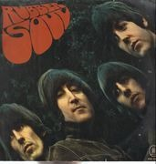 LP - The Beatles - Rubber Soul - White/Red/Gold Odeon