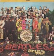 LP - The Beatles - Sgt. Pepper's Lonely Hearts Club Band - w cutout insert