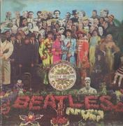 LP - The Beatles - Sgt. Pepper's Lonely Hearts Club Band - WITH CUTOUT CARD