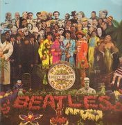 LP - The Beatles - Sgt. Pepper's Lonely Hearts Club Band - Red