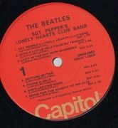 LP - The Beatles - Sgt. Pepper's Lonely Hearts Club Band - USA + INSERT