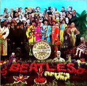 LP - The Beatles - Sgt. Pepper's Lonely Hearts Club Band - No cutout card