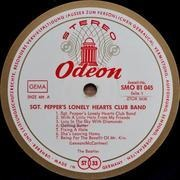 LP - The Beatles - Sgt. Pepper's Lonely Hearts Club Band - SWISS + INSERT