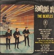 LP - The Beatles - Something New - GERMAN ODEON