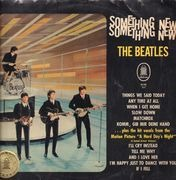 LP - The Beatles - Something New - TELDEC Contract Pressing