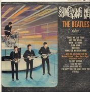 LP - The Beatles - Something New - Canada MONO