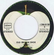 7'' - The Beatles - The Ballad of John and Yoko / Old Brown Shoe