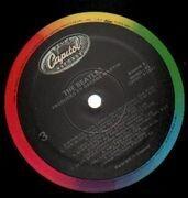 Double LP - The Beatles - White Album - BLACK CAPITOL RAINBOW RIM