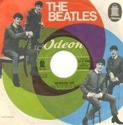 7'' - The Beatles - The Beatles' Hits - orig 1st german rare