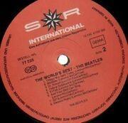 LP - The Beatles - The World's Best