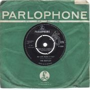 7'' - The Beatles - We Can Work It Out / Day Tripper - company sleeve