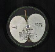 Double LP - The Beatles - White Album - no inserts