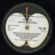 Double LP - The Beatles - White Album - Original UK Mono Toploader + Inserts